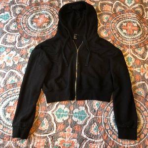 Forever 21 crop hoodie
